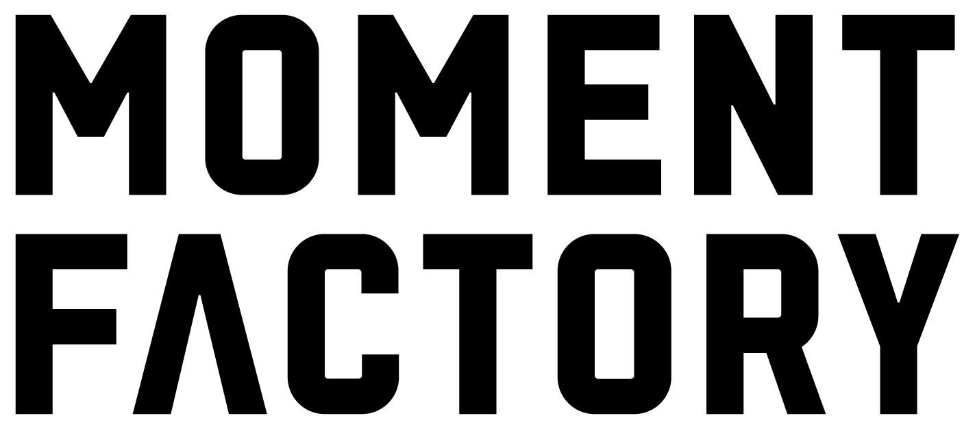 多媒體娛樂公司 Moment Factory logo
