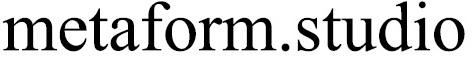 Metaform.Studio Logo
